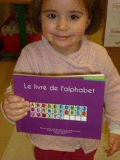 Ça commence comme ....Notre livre de l'alphabet.