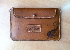 Italian Leather Clutch Wallet Minimal / For Cash & by HarrismaLeatherGoods, $28.80