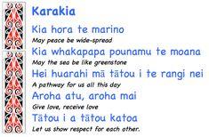 karakia for wellbeing - Google Search