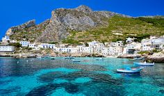 Levanzo, Aegadian Islands, Sicily – Beautiful Italian small islands   #TuscanyAgriturismoGiratola