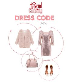 """""""dresscode cipria"""" by trendcrossing on Polyvore featuring moda, H&M e cipria"""