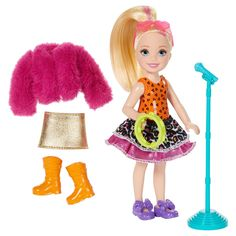 Little ones aged 3 years and up interested in music will adore this fashion doll from Barbie.