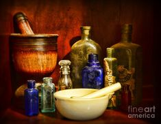 Apothecary - Tools Of The Pharmacist Photograph  - Apothecary - Tools Of The Pharmacist Fine Art Print