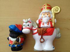 Fisher Price Little People Sinterklaas en zwarte Piet