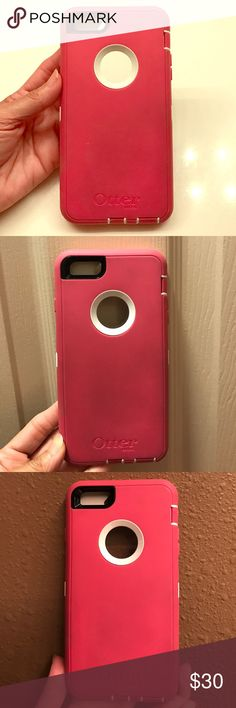 Otter Box for iPhone 6 Plus Otter Box for iPhone 6 Plus - Case has some wear as shown in pictures but other than this it is in good condition. OtterBox Accessories Phone Cases