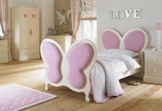 Amor y mariposas en el dormitorio - Soluciones - DecoEstilo.