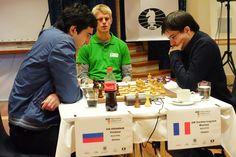 Vladimir Kramnik won 1,5-0,5 in tie-break against Maxime Vachier-Lagrave in Tromsø 2013 - Photos © Paul Truong - Follow us on www.chess-and-strategy.com