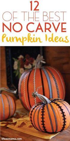 12 Of The Best No Carve Pumpkin Ideas
