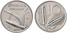 NumisBids: Nomisma Spa Auction Lot 496 : Repubblica italiana 10 Lire 1951 Prova – P. 725 IT (g. Rare Coin Values, Lus, Rare Coins, Auction, Money, Personalized Items, Valuable Coins, Madonna, Australia
