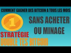 comment gagner des bitcoin tous les mois a vie sans minage ou forage Marketing, Youtube, Products, Life, Youtubers, Youtube Movies