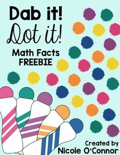 Enjoy this math fact bingo dauber (or coloring) freebie!! Perfect for quick and easy math fact practice!No Prep Required!Addition facts equaling: 8, 9, and 10Subtraction facts equaling: 3, 4, and 5
