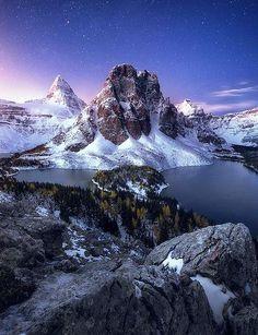 Mt. Assiniboine and Sunburst Peak, Banff National Park - Canada