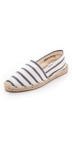 From Copy That: Inspired Instagram Looks to Wear Now  Soludos classic stripe espadrilles, $36