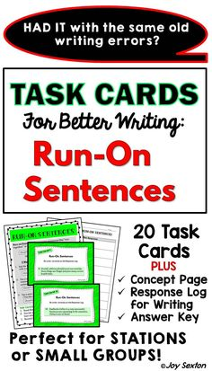 Analyzing Syntax in Literature Task Cards: Quizzes, Bell ...