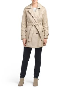 quilted trench