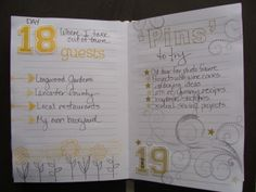 30 Days of Lists March 2014 Days 18 & 19