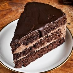 This ultimate chocolate cake recipe makes an impressive easy to make cake with 3 wonderful chocolate textures and flavors.
