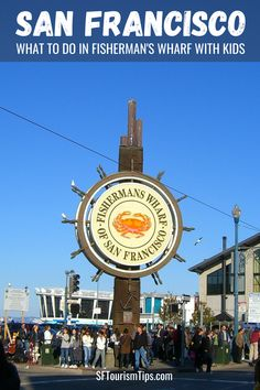 Tap the photo for a list of the best things to see and do in Fisherman's Wharf San Francisco with your kids. These family-friendly SF attractions offer you something your entire family will enjoy! San Francisco Attractions, San Francisco Vacation, San Francisco Neighborhoods, San Francisco Shopping, San Francisco Travel, Fisherman's Wharf San Francisco, San Francisco With Kids, Top Cruise, California Dreamin'