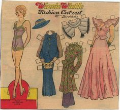WINNIE WINKLE FASHION CUT-OUT  by Branner