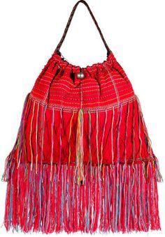 ShopStyle: Elliot Mann Red/Multicolor His Bag
