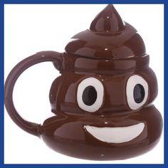 3D Funny Kuso Shit Mug Creative Ceramic Coffee Cup Kawaii Emoji Tea Cup Porcelain Novelty for Friend Gift