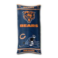 Chicago Bears NFL Folding Body Pillow