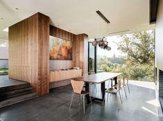 salle à manger - Oak Pass Main House par Walker Workshop - Los Angeles, Usa