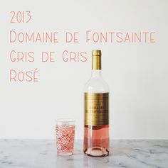 Whitney'S Monthly Wine Pick: Rose Non Alcoholic Drinks, Cocktail Drinks, Beverages, Cocktails, Winter Drinks, Summer Drinks, Glass Of Champagne, Gris Rose, Wine Design