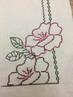 Canan Paksoy's media content and analytics Cute Cross Stitch, Cross Stitch Borders, Cross Stitch Flowers, Cross Stitch Designs, Cross Stitching, Cross Stitch Patterns, Hand Embroidery Stitches, Cross Stitch Embroidery, Embroidery Designs