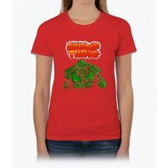 Swamp Thing (Nes) Title Screen Womens T-Shirt
