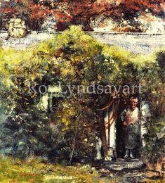 Woman at door, Co.Tyrone Ireland