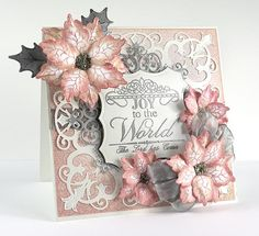 Heartfelt Joy to the World by stamptress1 - Cards and Paper Crafts at Splitcoaststampers