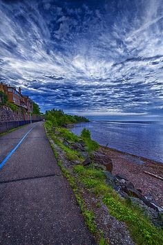 Lake Superior, Duluth, Minnesota  My most favorite place in the world :)