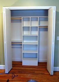 DIY ;) What a great idea ;) A Custom Closet on the Cheap