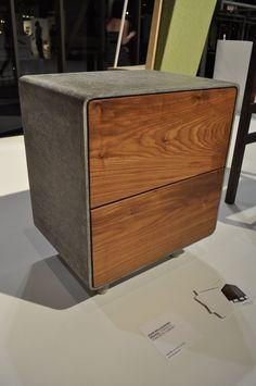 Concrete Furniture, Concrete Wood, Concrete Design, Industrial Furniture, Wood Design, Table Design, Concrete Table, Simple Furniture, Diy Furniture