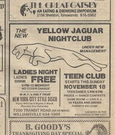 November 16, 1984    Buffalo, New York I went to this in 87/88 ha ha! Danced to Depeche Mode and Bonjovi!