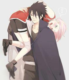 Sakura y Sasuke - Sasusaku