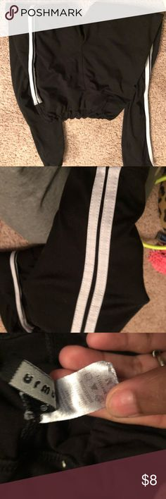 Adidas Leggings dupe Two stripes down both sides  Perfect condition adidas Pants Leggings