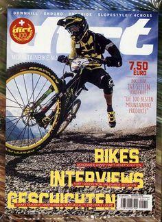 Bikes - Interviews - Geschichten. Gefunden in: dirt MOUNTAINBIKE MAGAZIN, Nr. 12/2015