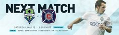 Seattle Sounders FC at Chicago Fire; May 13, 2017
