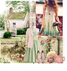"""Welcoming Spring......."" by nz-carla ❤ liked on Polyvore"