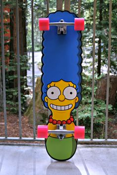 Marge skateboard by Santa Cruz Skateboards. #simpson #sport #thesimpson