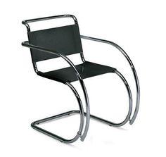 Mies Van Der Rohe Cantilever Armchair Chaise