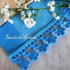 Crochet World added a new photo — with María Sánchez and 9 others. Crochet Baby Dress Pattern, Baby Dress Patterns, Crochet Trim, Baby Knitting Patterns, Crochet Lace, Free Crochet, Crochet Patterns, Crochet Summer, Crochet Flowers