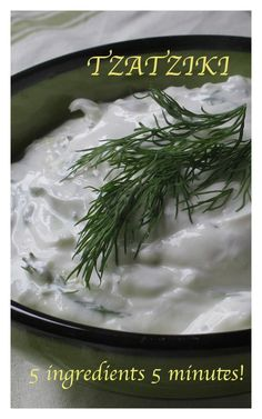 Keeping it simple with beautiful Tzatziki! Click Pic for recipe & #video link! and www.bestillandeat.com for more SIMPLY.GORGEOUS.FOOD