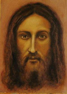 Jesus new face off the shroud of Turin © Ian Garratley