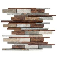 <p>Upgrade the look of your kitchen or bath with this 12in. x 12in. interlocking Copper Canyon Metallic Mosaic in brown color.</p><p>Metallic decorative tiles help you personalize any room in your home with attractive, distinctive pieces that are a great way to liven up your home's look. Using metallic decoratives as accent pieces gives your room a more stylish flair.</p>