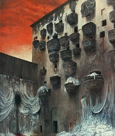 Sevasblog : things I like: Zdzisław Beksiński - paintings I