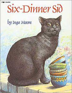Six Dinner Sid.  Favorite cat story for kids