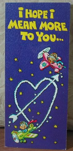 MARK 1 Inc. 1976 Vintage Greeting Card Style 118Z Thinking Of You   1.8P723B481217JUNK0288   http://ajunkeeshoppe.blogspot.com/
